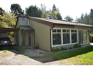 Main Photo: 5179 CHAPMAN Road in Sechelt: Sechelt District House for sale (Sunshine Coast)  : MLS®# V1061562