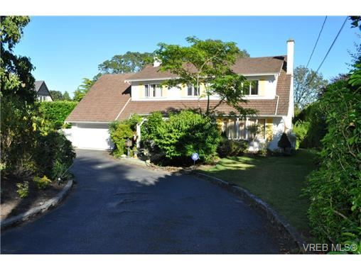 Main Photo: 3445 Cadboro Bay Road in VICTORIA: OB Uplands Single Family Detached for sale (Oak Bay)  : MLS(r) # 342438