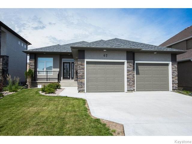 Main Photo: 67 Northern Lights Drive in WINNIPEG: Fort Garry / Whyte Ridge / St Norbert Residential for sale (South Winnipeg)  : MLS® # 1520364