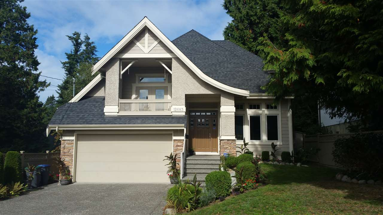 "Main Photo: 12683 15A Avenue in Surrey: Crescent Bch Ocean Pk. House for sale in ""OCEAN PARK"" (South Surrey White Rock)  : MLS®# R2002618"