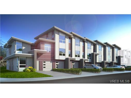 Main Photo: 929 Whirlaway Crescent in VICTORIA: La Florence Lake Townhouse for sale (Langford)  : MLS® # 365445