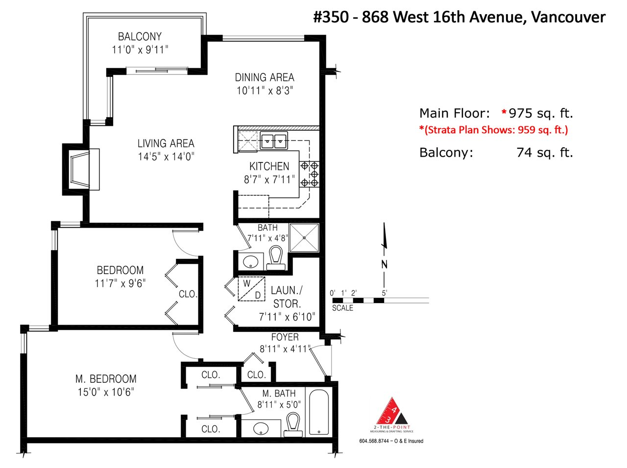 "Photo 20: 305 868 W 16TH Avenue in Vancouver: Cambie Condo for sale in ""Willow Springs"" (Vancouver West)  : MLS(r) # R2141883"