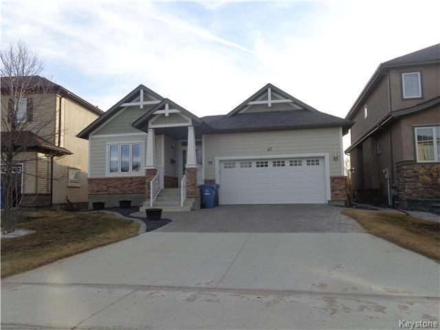 Main Photo: 47 Appletree Crescent in Winnipeg: Waverley West Residential for sale (1R)  : MLS® # 1707959