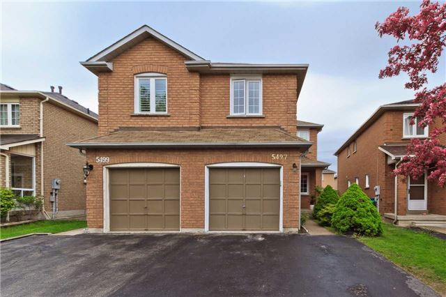 Main Photo: 5497 Cosmic Crescent in Mississauga: Hurontario House (2-Storey) for sale : MLS®# W3802855