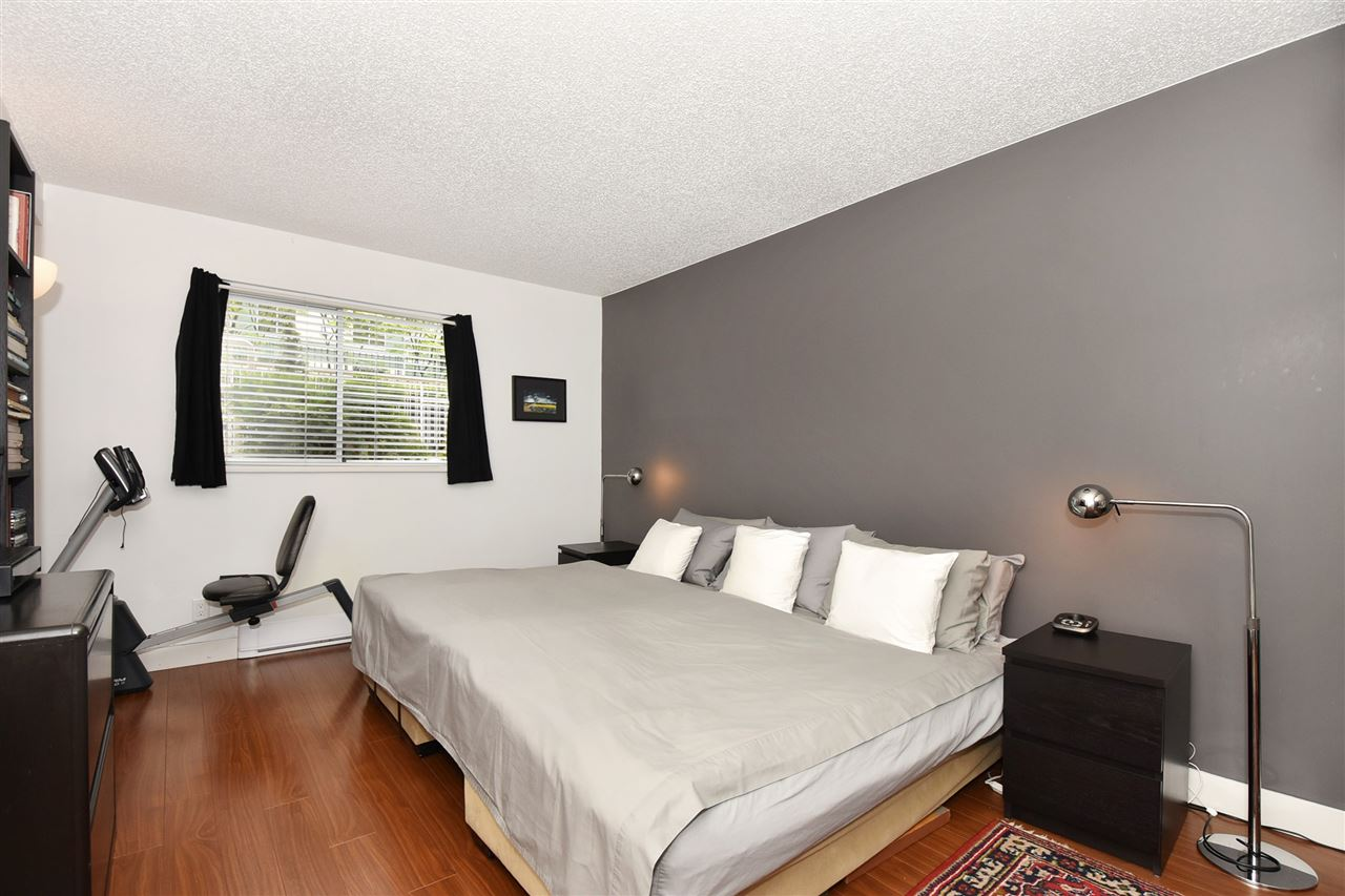 Huge master bedroom with enough room for a king-sized bed and more furniture! Window for natural light and fresh air.