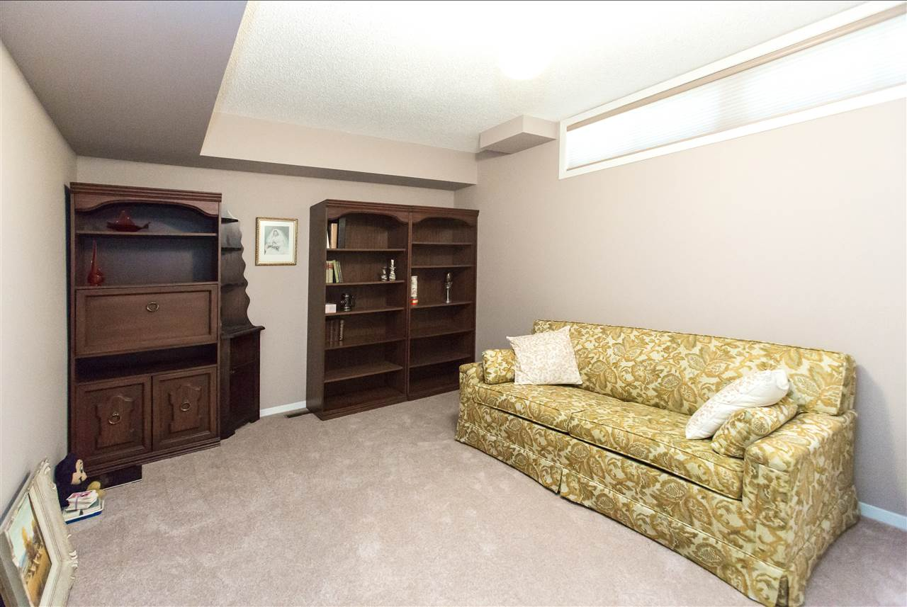 Very spacious 4th bedroom located in the fully finished basement