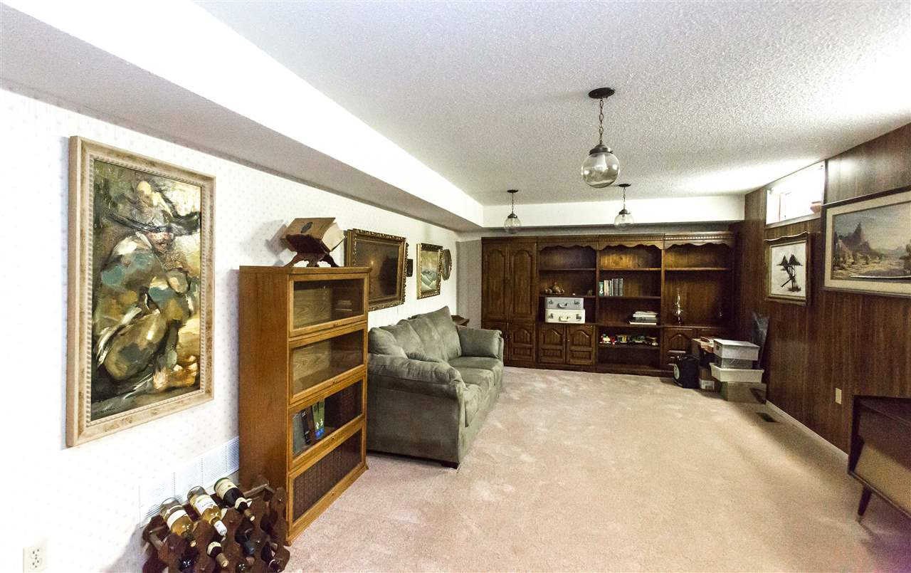 What a fantastic space to entertain or just let loose in the huge recreation room located in the fully finished basement.