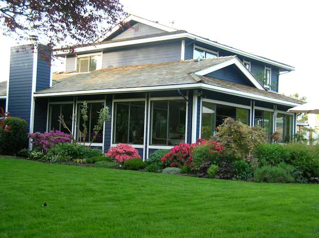 Rear View of Home