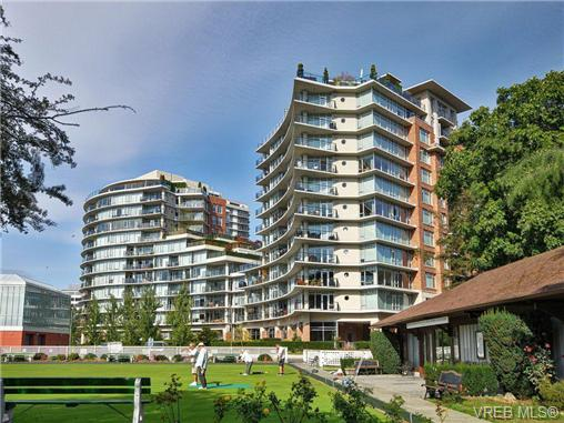 Main Photo: N408 737 Humboldt Street in VICTORIA: Vi Downtown Condo Apartment for sale (Victoria)  : MLS® # 348734
