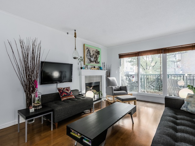 Photo 2: 207 1169 NELSON Street in Vancouver: West End VW Condo for sale (Vancouver West)  : MLS® # R2038790