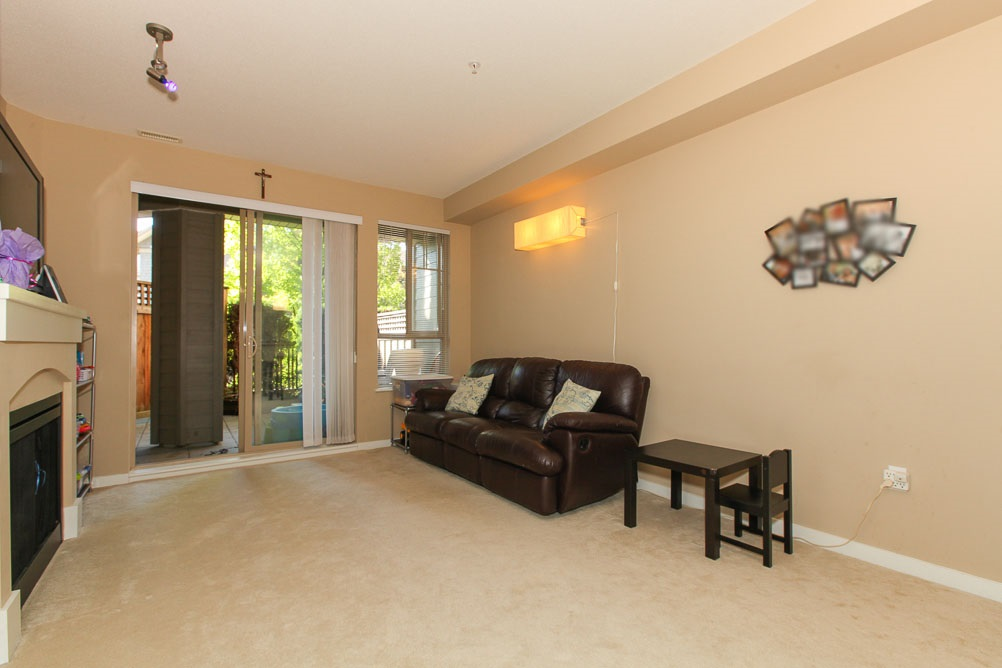 "Photo 3: 111 2969 WHISPER Way in Coquitlam: Westwood Plateau Condo for sale in ""SUMMERLIN AT SILVER SPRING"" : MLS(r) # R2095964"