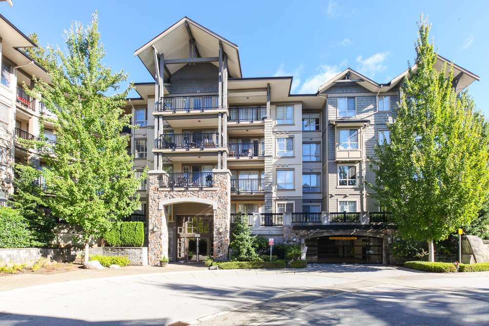 "Main Photo: 111 2969 WHISPER Way in Coquitlam: Westwood Plateau Condo for sale in ""SUMMERLIN AT SILVER SPRING"" : MLS(r) # R2095964"