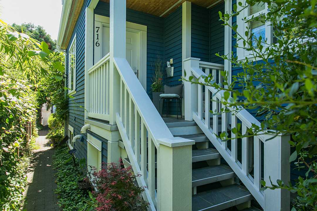 Main Photo: 716 UNION Street in Vancouver: Mount Pleasant VE House 1/2 Duplex for sale (Vancouver East)  : MLS®# R2101299
