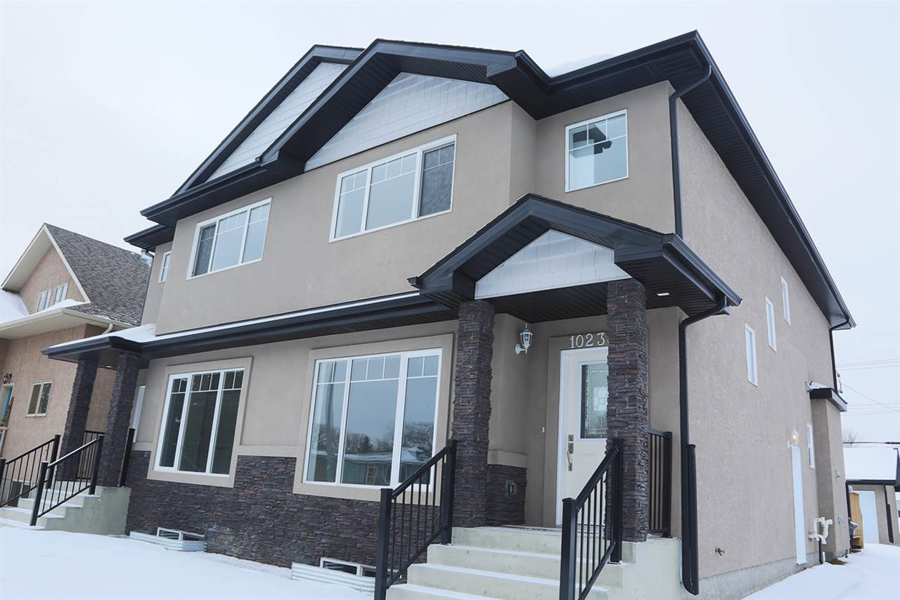 Main Photo: 10238 79 Street NW in Edmonton: Zone 19 House Half Duplex for sale : MLS(r) # E4049503