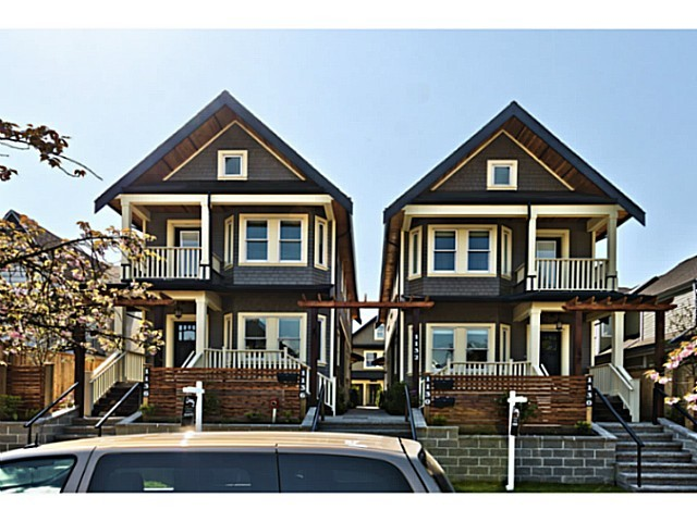 Main Photo: 1 1130 PENDER Street E in Vancouver East: Home for sale : MLS® # V1124082