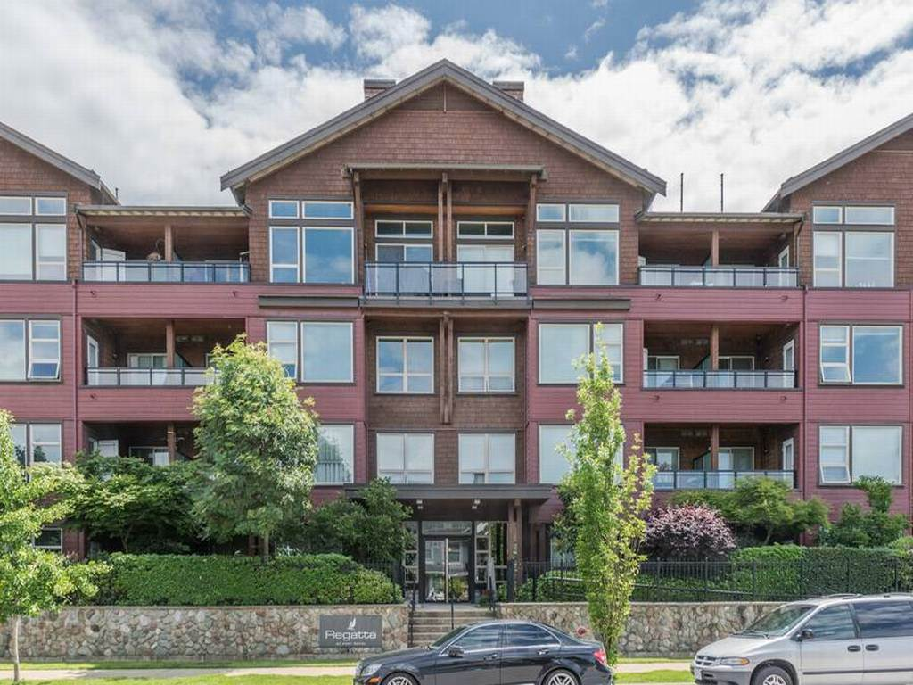 Main Photo: 310 240 SALTER Street in New Westminster: Queensborough Condo for sale : MLS(r) # R2176719