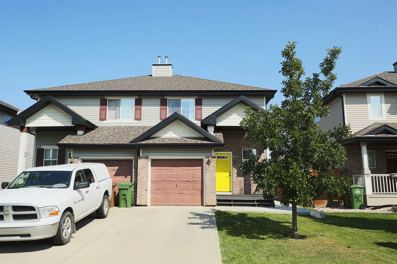 Main Photo: 31 NEVIS Close: St. Albert House Half Duplex for sale : MLS® # E4077815