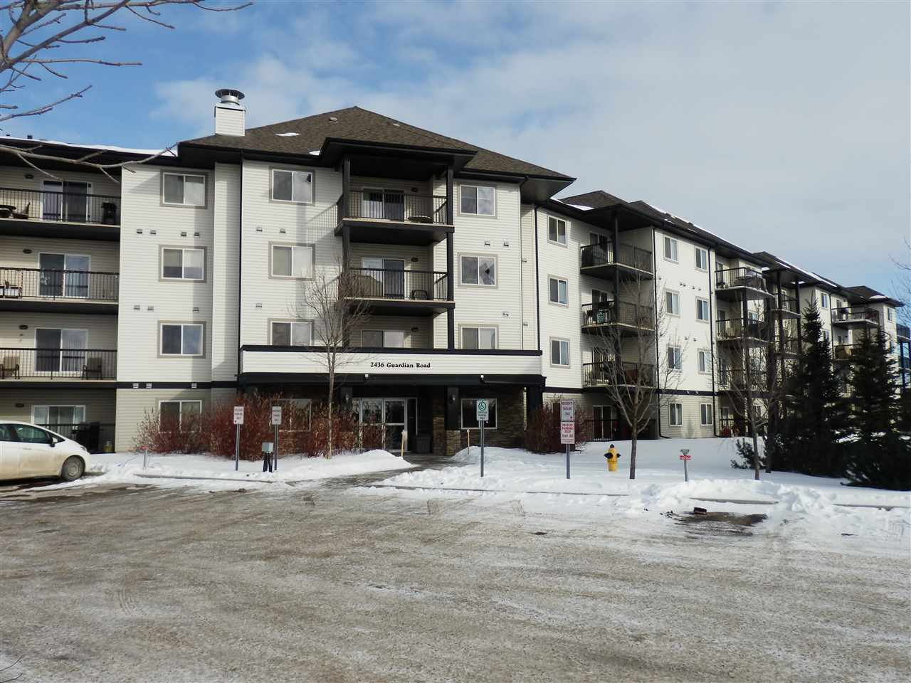Main Photo: 134 2436 GUARDIAN Road NW in Edmonton: Zone 58 Condo for sale : MLS® # E4097484
