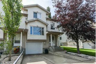 Main Photo: 4 9935 167 Street in Edmonton: Zone 22 Townhouse for sale : MLS®# E4121382