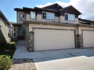Main Photo: 7873 170A Avenue in Edmonton: Zone 28 House Half Duplex for sale : MLS®# E4122473