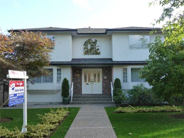 Main Photo: 3548 W 42ND Avenue in Vancouver: Southlands House for sale (Vancouver West)  : MLS® # V912309