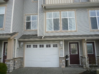 "Main Photo: 30 46906 RUSSELL Road in Sardis: Promontory Townhouse for sale in ""RUSSEL HEIGHTS"" : MLS®# R2040763"