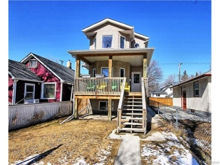 Main Photo: 849 Hector Avenue in Winnipeg: Manitoba Other Residential for sale : MLS® # 1607796