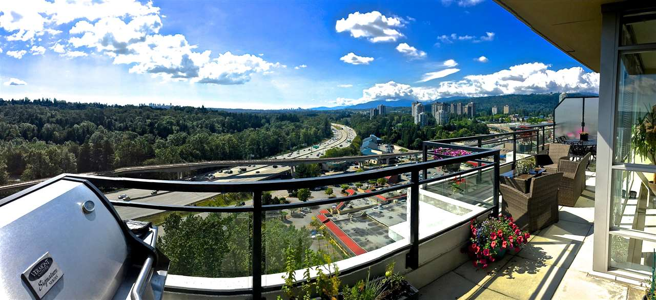 "Main Photo: 2102 555 DELESTRE Avenue in Coquitlam: Coquitlam West Condo for sale in ""CORA TOWERS"" : MLS® # R2083694"