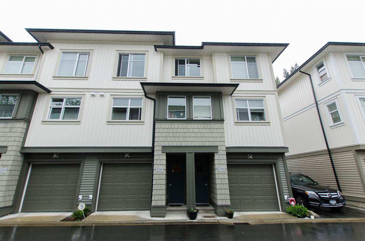 "Main Photo: 56 8355 164 Street in Surrey: Fleetwood Tynehead Townhouse for sale in ""SILVERWOOD"" : MLS®# R2098131"