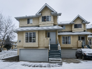 Main Photo: 24, 2419 133 Avenue Edmonton 3 Bed Townhouse Condo For Sale E44045103