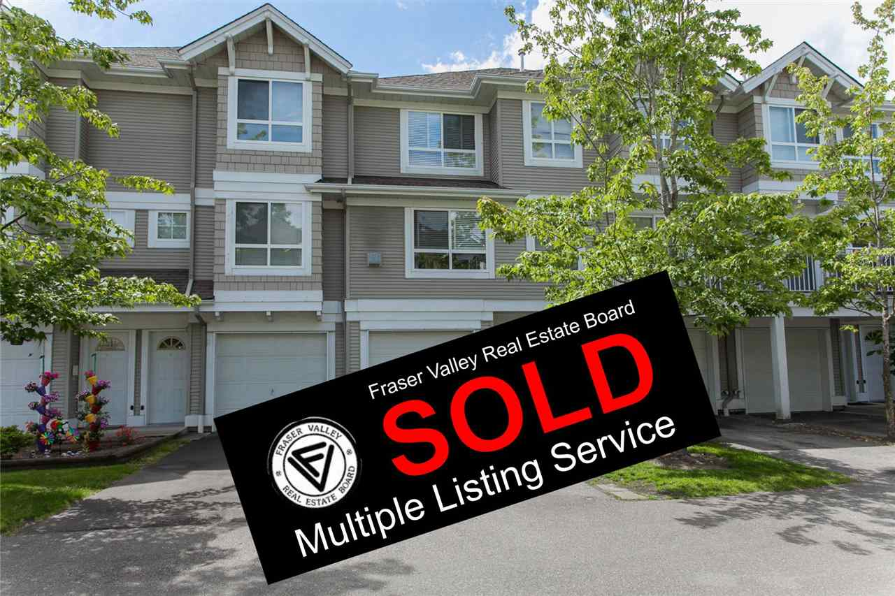 "Main Photo: 17 20890 57 Avenue in Langley: Langley City Townhouse for sale in ""Aspen Gables"" : MLS®# R2136493"