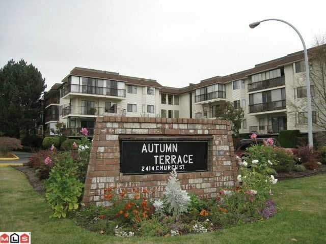 "Main Photo: 310 2414 CHURCH Street in Abbotsford: Abbotsford West Condo for sale in ""AUTUMN TERRACE"" : MLS® # R2159048"