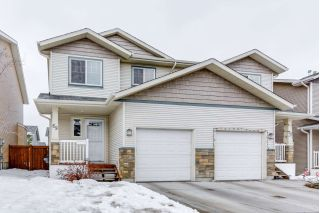 Main Photo: 14208 36 Street NW in Edmonton: Zone 35 House Half Duplex for sale : MLS® # E4102042