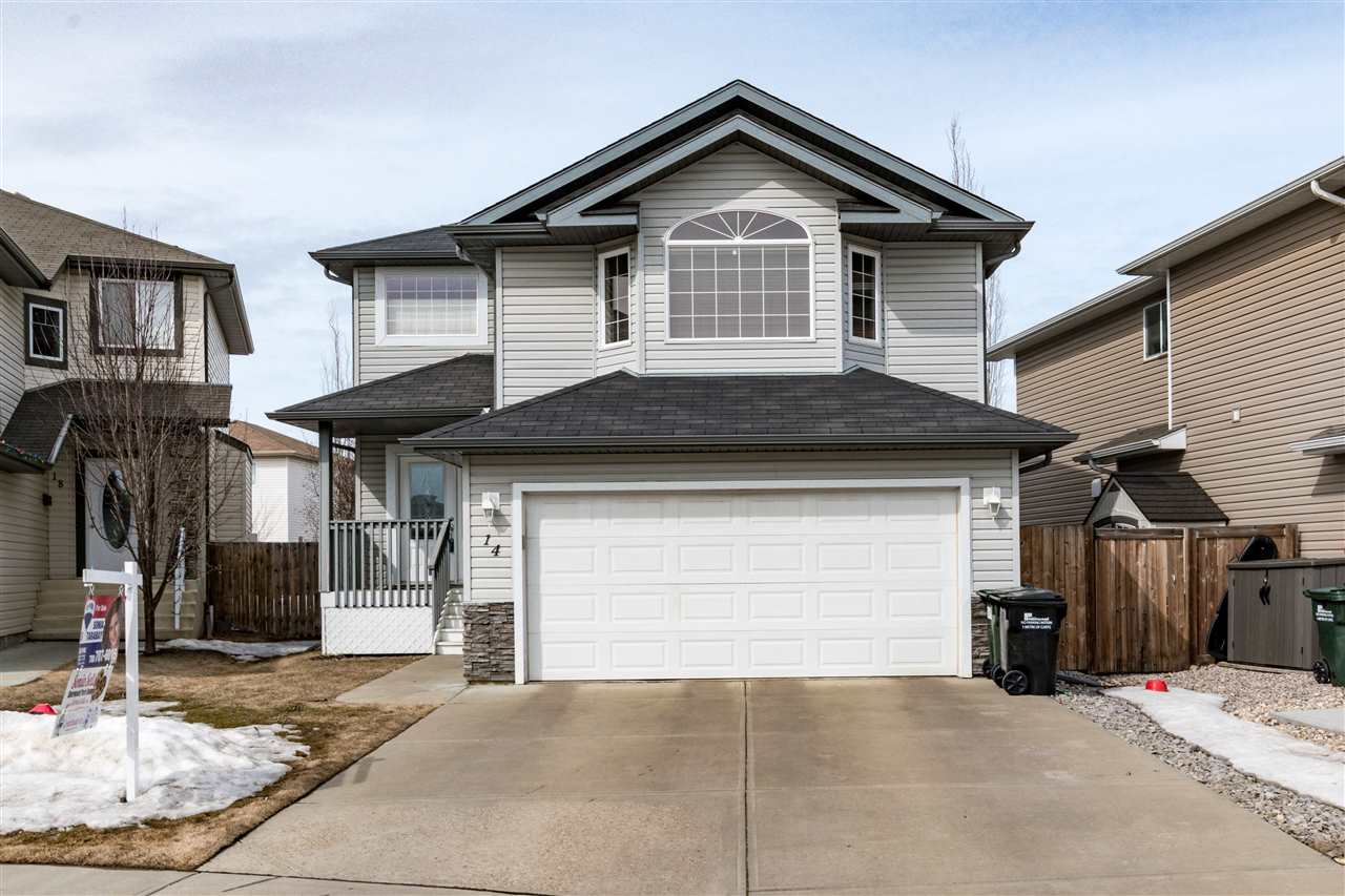 Main Photo: 14 Foxglove Court: Sherwood Park House for sale : MLS®# E4104750
