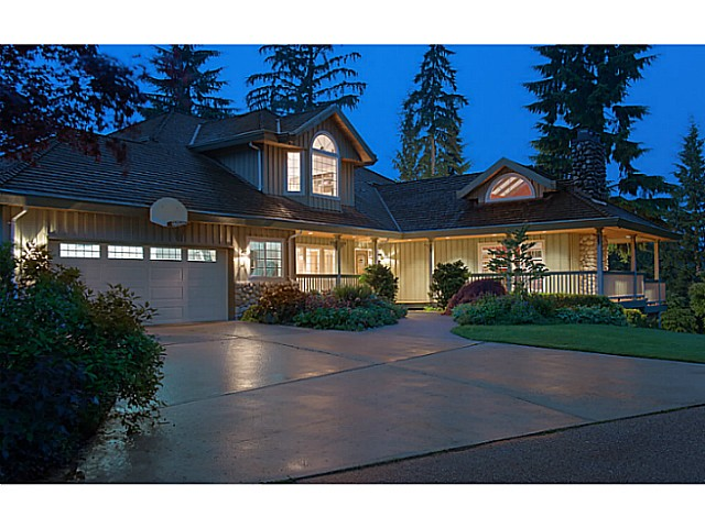 Main Photo: 1060 THOMSON RD: Anmore House for sale (Port Moody)  : MLS(r) # V1010190