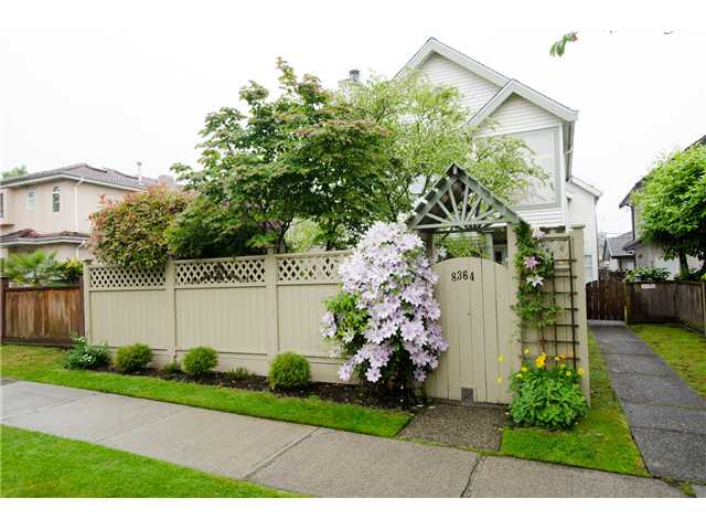 "Main Photo: 8364 OSLER Street in Vancouver: Marpole House 1/2 Duplex for sale in ""MARPOLE"" (Vancouver West)  : MLS®# V1067949"