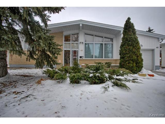 Main Photo: 48 Magellan Bay in WINNIPEG: Westwood / Crestview Residential for sale (West Winnipeg)  : MLS®# 1429621