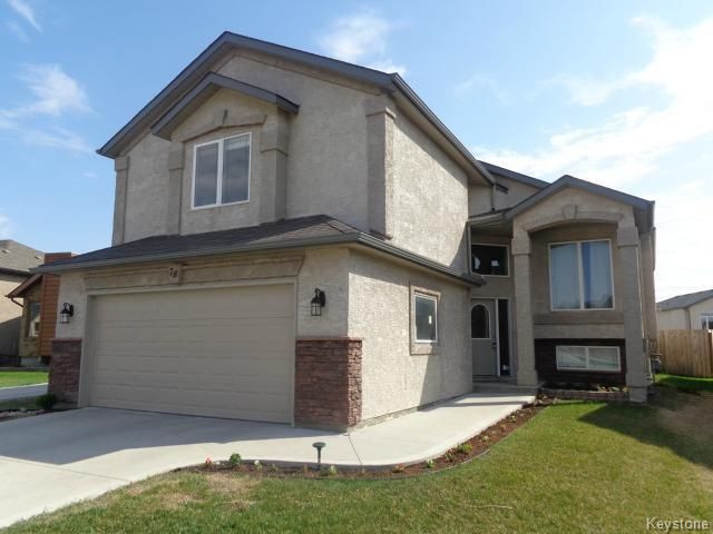 Main Photo: 78 Perfanick Drive in WINNIPEG: North Kildonan Residential for sale (North East Winnipeg)  : MLS® # 1511752