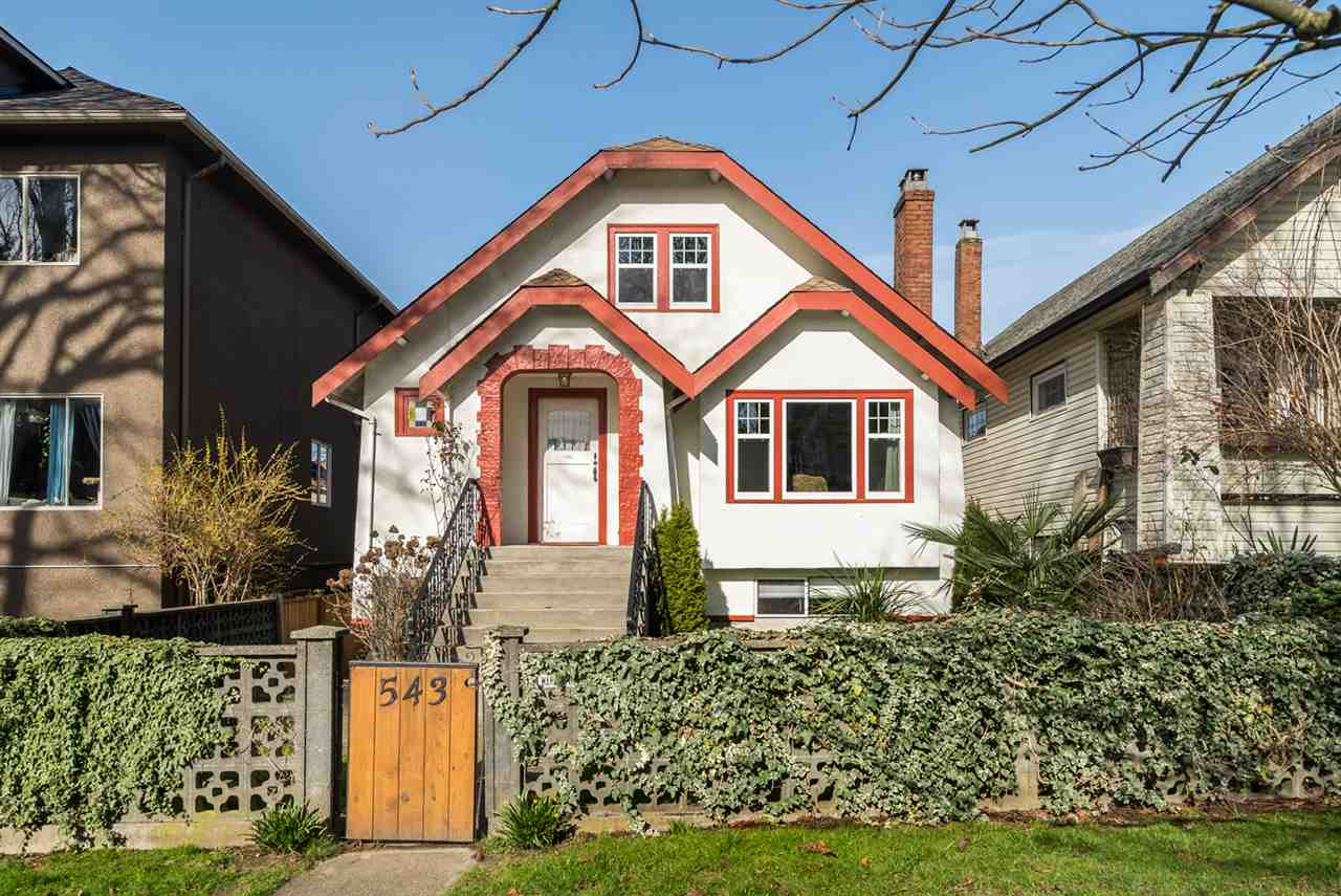 Main Photo: 543 E 10TH Avenue in Vancouver: Mount Pleasant VE House for sale (Vancouver East)  : MLS® # R2039986