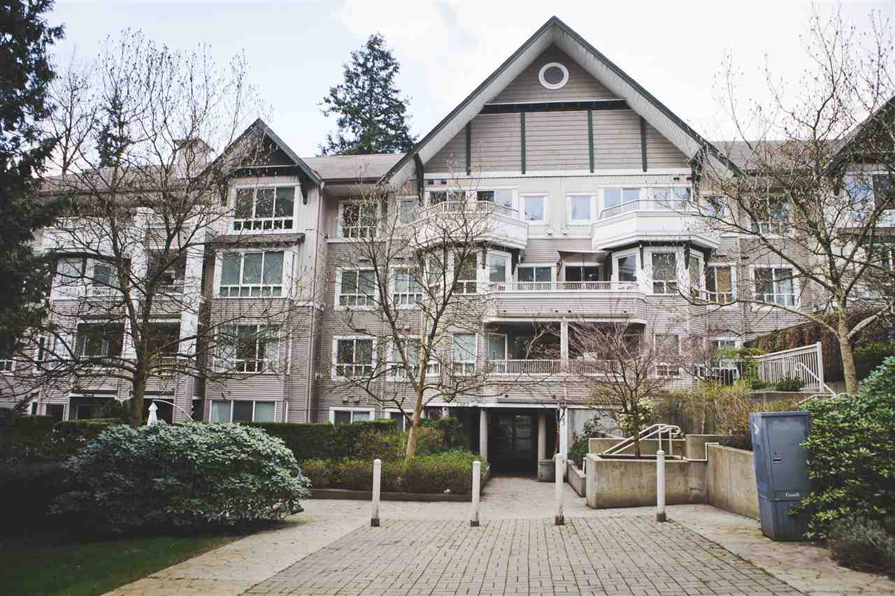 "Main Photo: 315 7383 GRIFFITHS Drive in Burnaby: Highgate Condo for sale in ""18 TREES"" (Burnaby South)  : MLS® # R2046585"