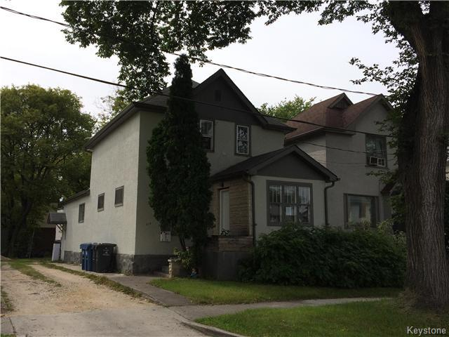 Main Photo: 310 Cathedral Avenue in Winnipeg: Residential for sale (4C)  : MLS®# 1629463