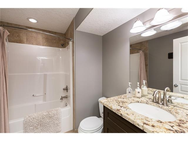 Basement Bath with Heated Floors!