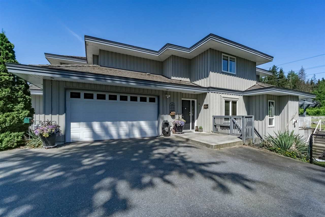 Main Photo: 111A HEMLOCK Drive: Anmore House 1/2 Duplex for sale (Port Moody)  : MLS(r) # R2172340