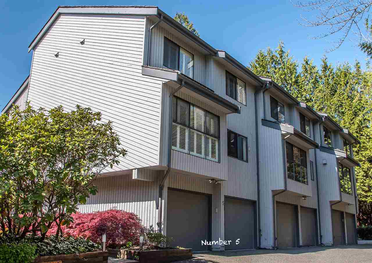 "Photo 1: 5 300 MAUDE Road in Port Moody: North Shore Pt Moody Townhouse for sale in ""SANMARINO BY THE SEA"" : MLS® # R2179463"