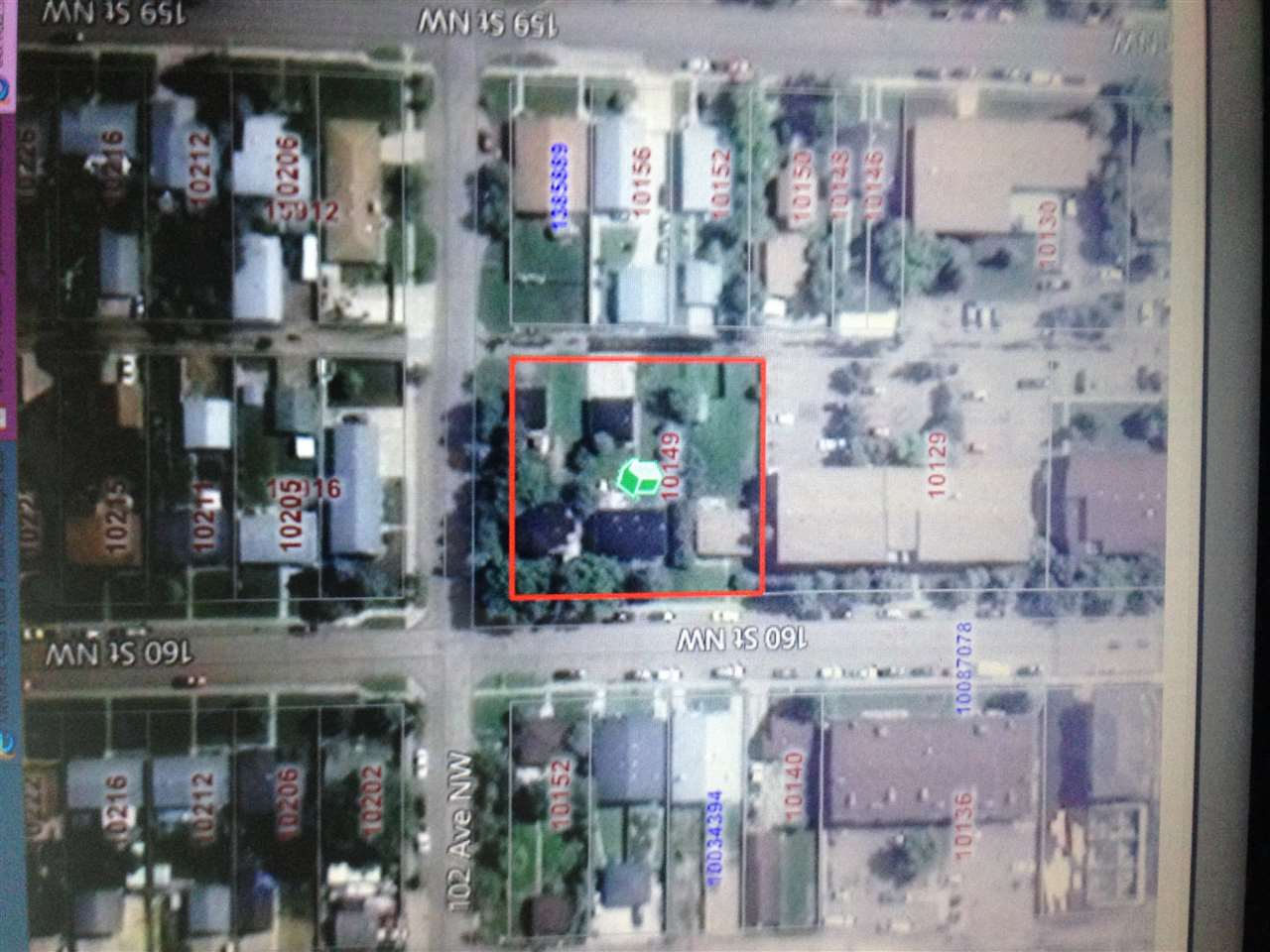 Main Photo: 10149 160 Street in Edmonton: Zone 21 Vacant Lot for sale : MLS(r) # E4071024