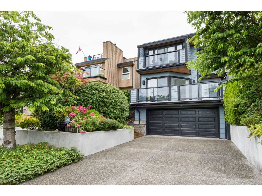 "Main Photo: 15837 COLUMBIA Avenue: White Rock House for sale in ""East Beach"" (South Surrey White Rock)  : MLS(r) # R2191085"