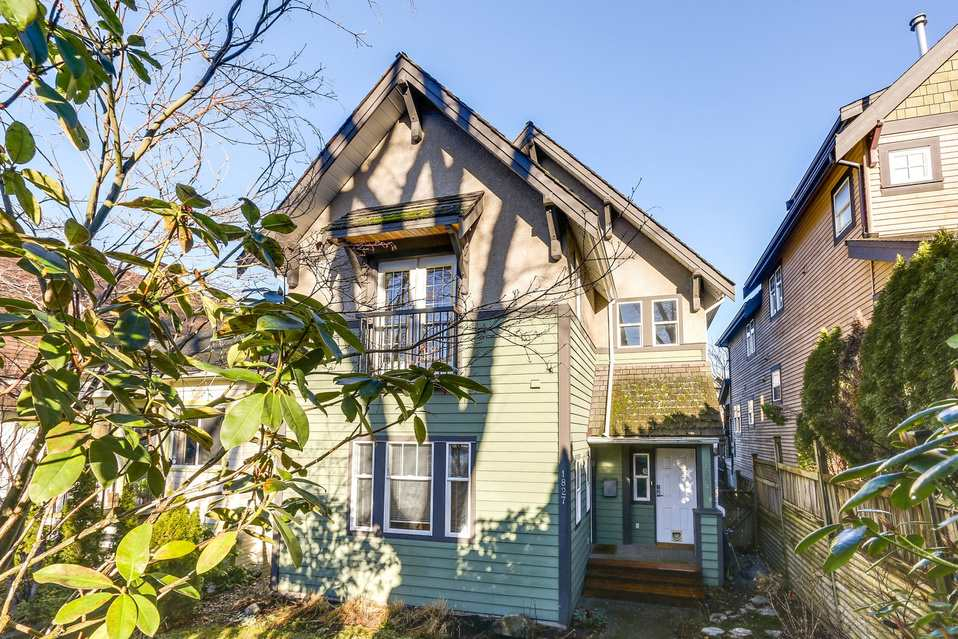 Main Photo: 1827 E 7th Ave. in Vancouver: Grandview VE House 1/2 Duplex for sale (Vancouver East)  : MLS® # R2133768