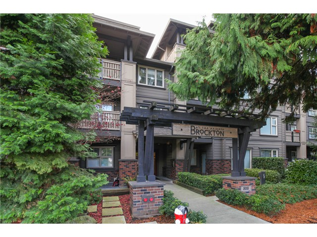 "Main Photo: 414 808 SANGSTER Place in New Westminster: The Heights NW Condo for sale in ""The Brockton"" : MLS®# V1037490"