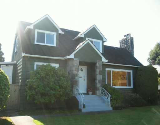 Main Photo: 1288 W 49TH Ave in Vancouver: South Granville House for sale (Vancouver West)  : MLS®# V616803
