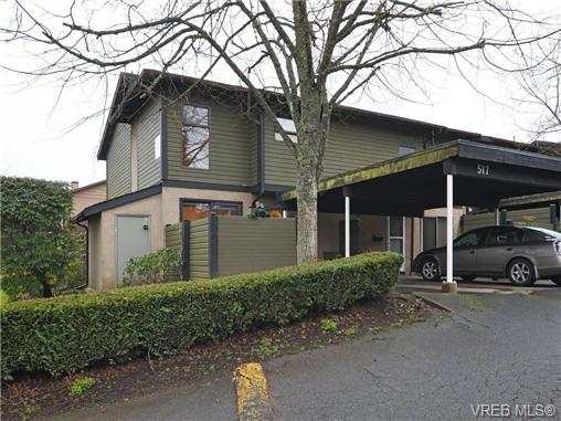 Main Photo: 517 Crossandra Crescent in VICTORIA: SW Tillicum Townhouse for sale (Saanich West)  : MLS® # 359269
